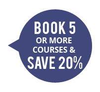 Book 5 OR More Courses & Save 20%